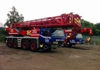 BJW Crane Hire Mobile Crane Fleet