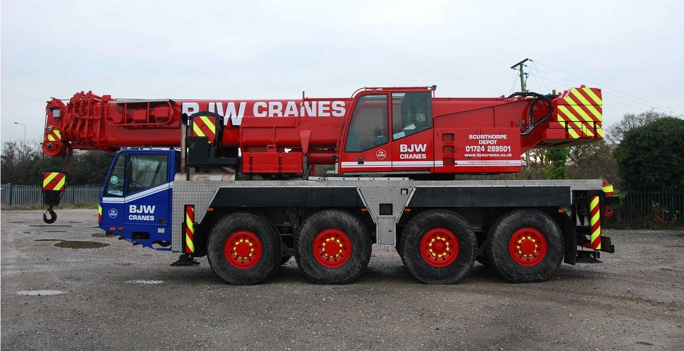 BJW Crane Hire Fleet
