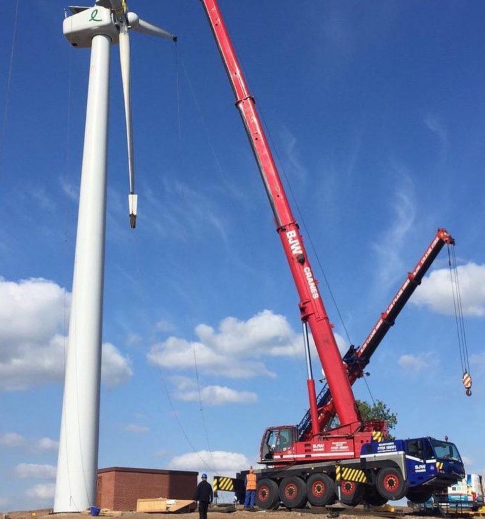 Mobile Tower Crane Hire, Mobile Crane Rentals - BJW Crane Hire